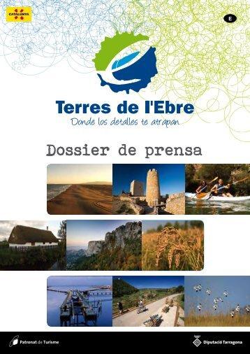 Dossier de prensa - Terres de l'Ebre
