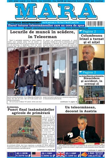Download (PDF, 4.87MB) - Ziarul Mara