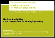 Cerreta presentation - Keele University
