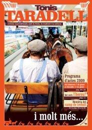 Programa d'actes 2009 - Grup Nació Digital