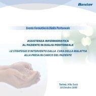 le strategie d'intervento dalla cura della malattia - Nefropiemonte.org