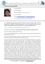 Dott. Ph.D Emanuele POLI - Scienze della Formazione