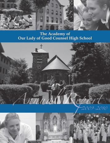 Annual Report 2009-2010.pdf - Academy of Our Lady of Good ...