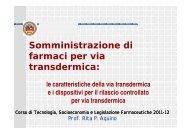 Lezione 2 1^ parte - Università degli Studi di Salerno