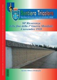 N° 3 Anno XVI (LVI) ~ Ottobre/Dicembre 2008 - Unione Nazionale ...
