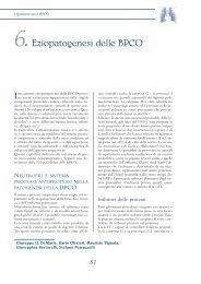 6.Eziopatogenesi delle BPCO - Clinica malattie apparato respiratorio