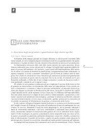 3. Gli assi prioritari d'intervento - Regione Campania