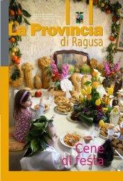Aprile 2009 - Provincia Regionale di Ragusa