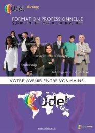 Brochure Formation professionnelle - ODEL Var