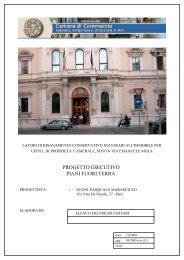Elenco prezzi unitari - CCIAA di Bari