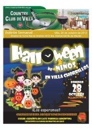 Boletin 20 Octubre 2012 - Country Club de Villa