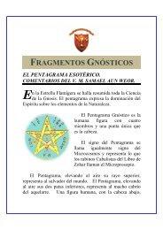 FRAGMENTOS GNÓSTICOS - ACEGAP
