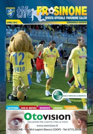 TIFO FROSINONE rivista n 9 - Frosinone Calcio