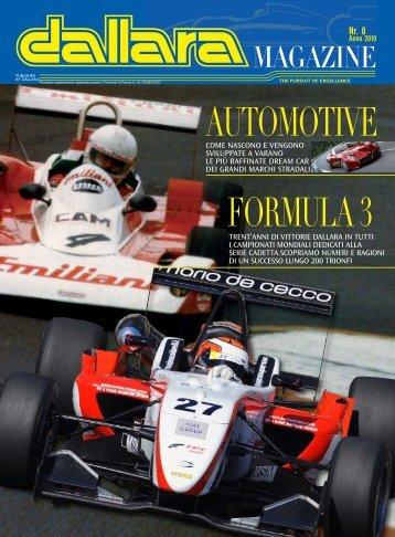AUTOMOTIVE FORMULA 3 - Italiaracing