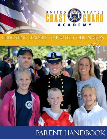 2017 Parent Handbook.pub - USCG Academy Alumni Association