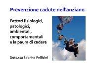 Prevenzione cadute nell'anziano - Sabrina Pellicini. - Asl Nuoro