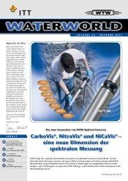 WATERWORLD . Ausgabe 23 . Oktober 2011 - WTW.com