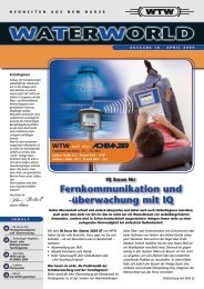 WATERWORLD . Ausgabe 18 . April 2009 - WTW.com