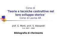 Diapositiva 1 - Sede di Architettura