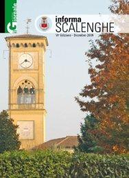 VIa Edizione - Dicembre 2009 - Comune di Scalenghe