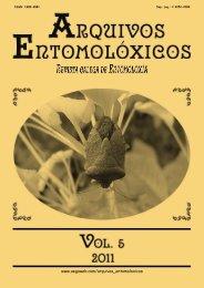 5 - AEGA - Arquivos Entomolóxicos Galegos
