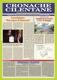 Aprile 2011 - Cronache Cilentane
