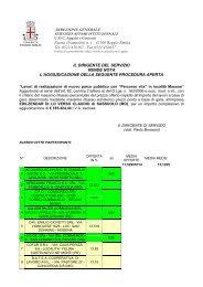 Esito parco Masone.pdf - Comune di Reggio Emilia
