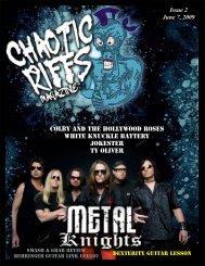 Chaotic Riffs Magazine - Issue 1 - Portfolio - Vortexual Dreams ...