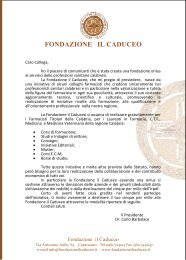 fondazione il caduceo - Ordine dei farmacisti della provincia di ...