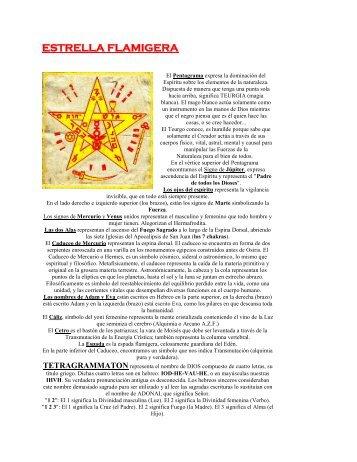 ESTRELLA FLAMIGERA - Redencion 12