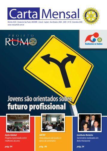 futuro profissional - Distrito 4420