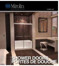 SHOWER DOORS PORTES DE DOUCHE - Mirolin