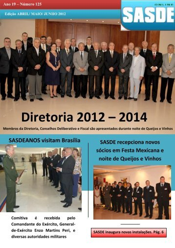 Diretoria 2012 – 2014 - sasde