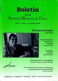 Volumen 9 Número 4 octubre-diciembre - Sociedad Mexicana de ...