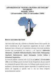 APPARIZIONI DI KIBEHO.pdf - Parrocchia San Michele Arcangelo ...