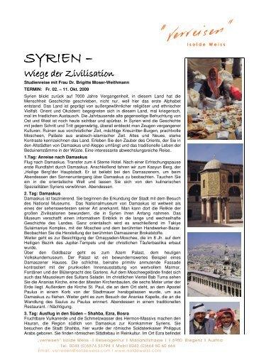 SYRIEN –