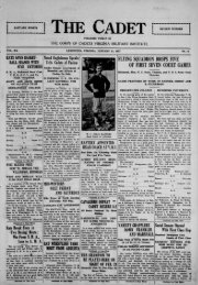 The Cadet. VMI Newspaper. January 31, 1927 - New Page 1 [www2 ...