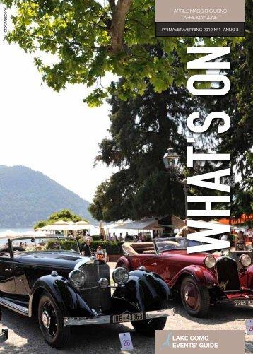 Primavera 2012 - Anno 8 numero 1 - Comosmagiclake.com