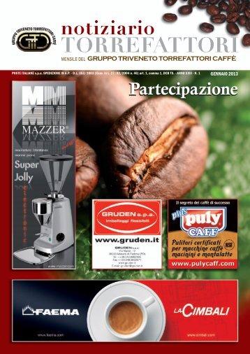 gennaio 2013 - Gruppo Triveneto Torrefattori di Caffè