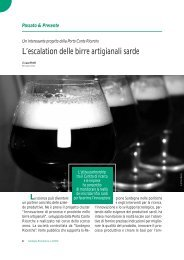 L'escalation delle birre artigianali sarde - Porto Conte Ricerche