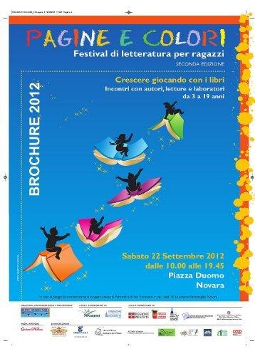 La Brochure.pdf - PAGINE E COLORI Associazione Culturale - Sito ...