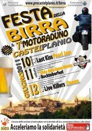 Scarica la locandina in formato PDF - Proloco di Castelplanio