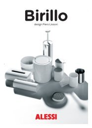 Alessi - Birillo Serie - Katalog ansehen - EXQUISIT24