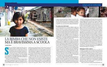 LA BIMBA CHE NON ESISTE MA È BRAVISSIMA A ... - Caritas Italiana
