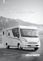 HYMER Exsis-i Fiat - Hymer AG