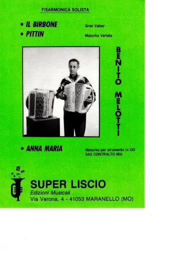 BENITO MELOTTI - FASCICOLO (IL BIRBONE).pdf - edizioni ...