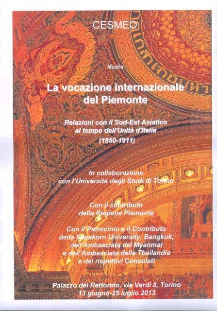 Locandina - Università degli Studi di Torino