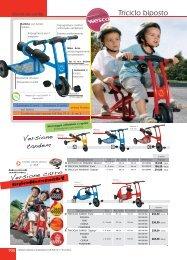 Triciclo biposto