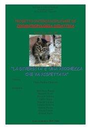 progetto di zooantropologia didattica - Portale per l'educazione