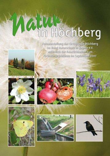 Fotoausstellung der Ortsgruppe Höchberg im Bund Naturschutz in ...